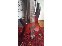 Tanglewood Overwater Aspiration Artist Deluxe 4 string Left Handed Bass Guitar