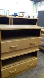 Pine Television Stand with stroage draws - Delivery Available