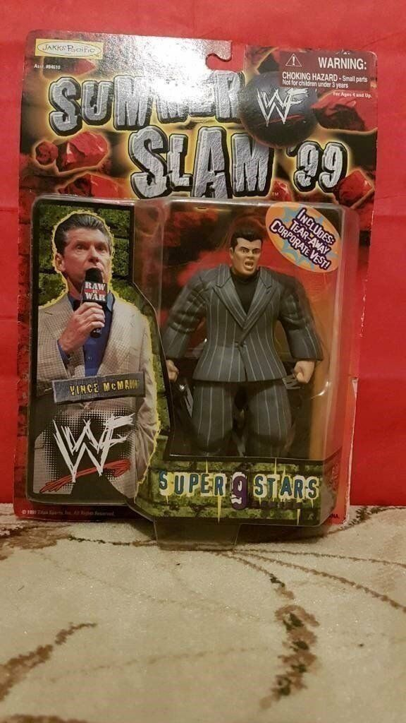WWE / WWF Vince Mcmahon Figure Toy
