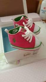 Genuine Ralph Lauren baby boots