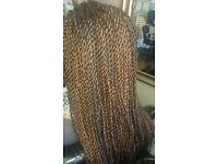 Afro hair braiding