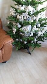 6ft Christmas Tree with decorations