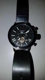 Mens stunning metal watch