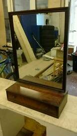 Mirror and draw unit
