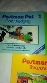 Postman pat books x3