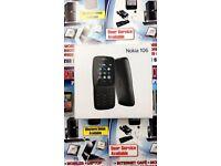 Brand new -Nokia 106 Dual Sim Keypad Mobile unlocked with FREE sim