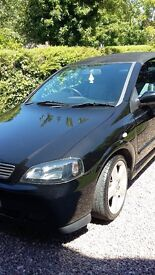 2006 VAUXHALL ASTRA BERTONE CONVERTABLE. Very low mileage(52000). £1995 OVNO