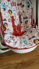 Swing baby chair hardly used