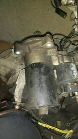 Citroen ax starter motor