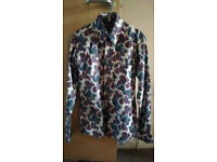Relco London paisley pattern shirt. Brand new (small).