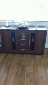 Tv unit & matching sideboard