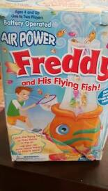 Freddy and his flying fish