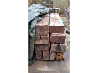 railway sleepers used