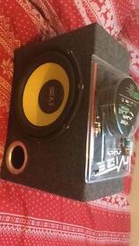 Kicker - Beat Car Amplifier with new amplifier system kit
