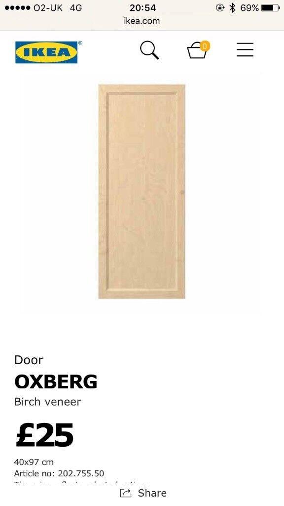 Free IKEA oxberg billy door