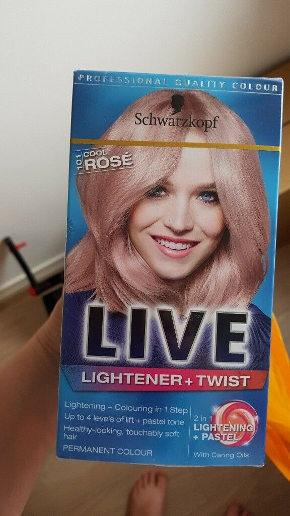 3 Boxes Of Rose Gold Hair Dye In Wirral Merseyside Gumtree