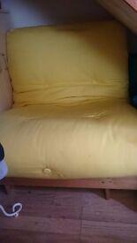 Single futon, bed chair