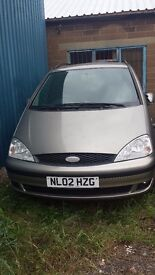 FORD GALAXY TAILGATE SILVER 2002