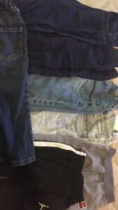 Seven pairs of Pants $30 12-18 Months