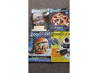 Bundle of 13 Good food magazines