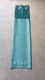 Next Home Teal Curtains