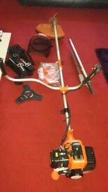 parker petrol brush cutter +hecutter ttachment and accessories