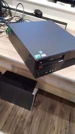 Quad Core Lenovo ThinkCentre Desktop! Intel 2.5GHz(x4) 4GB Ram 320Gb Windows 10 Pro & Office