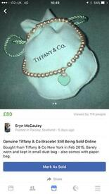 Real Tiffany & Co Bracelet bought Feb 15