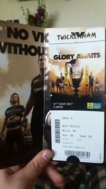 2x Aviva Premiership Rugby Final 2017 Tickets