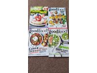 Bundle of 13 Good Food magazines
