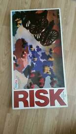 Risk 1968 edition board game