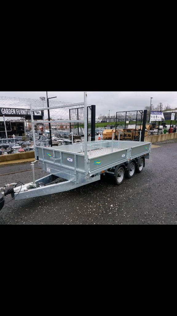 14ft builders dropside trailer mint condition