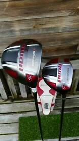 Benross Quad Driver + Benross Quad 3 Wood..Excellent Condition