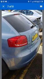 Audi a3 rear colour 3 door facelift 2009
