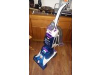 Vax W87-DV-T Dual T Advance Upright Carpet Cleaner Washer, new condition, hard floor & carpet floor.
