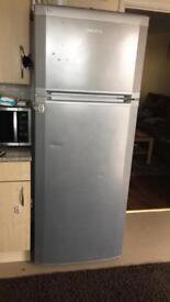 BEKO Fridge and Freezer in Grey