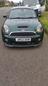 Mini Coupe JCW, Chilli pack and Media pack. Full service history, sat nav, heated seats