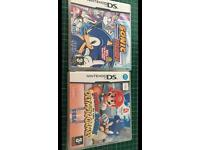 DS games of mario and sonic games two for 15 pounds