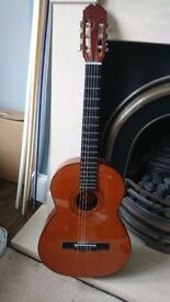 Almeria Spanish Guitar - good condition, plays beautifully, but currently missing one string!