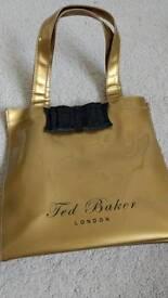 Ted Baker bag gold and black