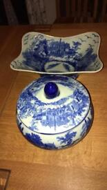 Willow pattern bowls