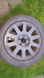 Alloy wheel 5×112 16s