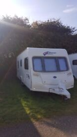 Touring Caravan-Bailey Pageant Bretagne 2007 - 6 Berth - Fixed Bunks