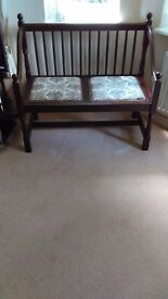 Old Charm ?? Hall / Window seat. excellent condition from smoke free home.