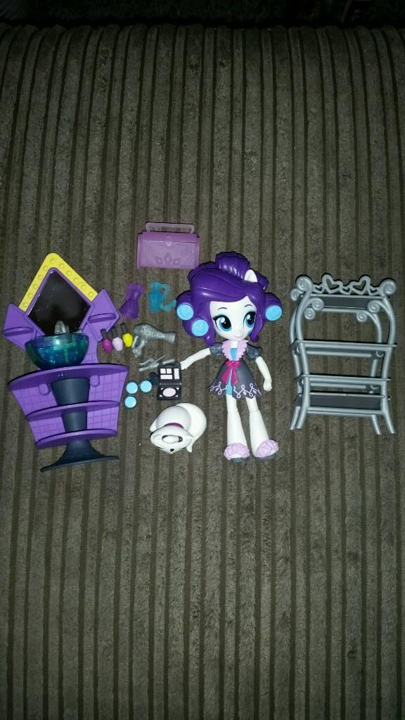 My Little Pony Equestria Girls Rarity Vanity Set!