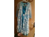 Elsa Frozen dress worn once