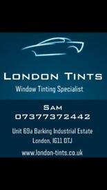 London Car Window Tinting. Quality Work Affordable Prices. Car Tints Tinted Vinyl