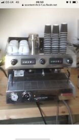 Sanramo Capri coffee machine.