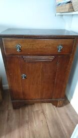 Retro vintage cabinet. Solid. Upcycle project