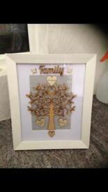 Personalised handmade frame